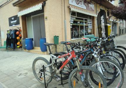 Tienda de Bicicletas, Reparación y Alquiler