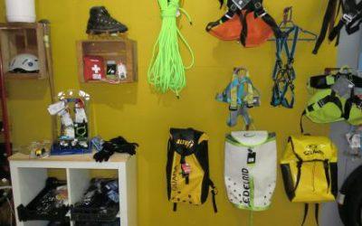 Tienda de Barranquismo y alquiler de material