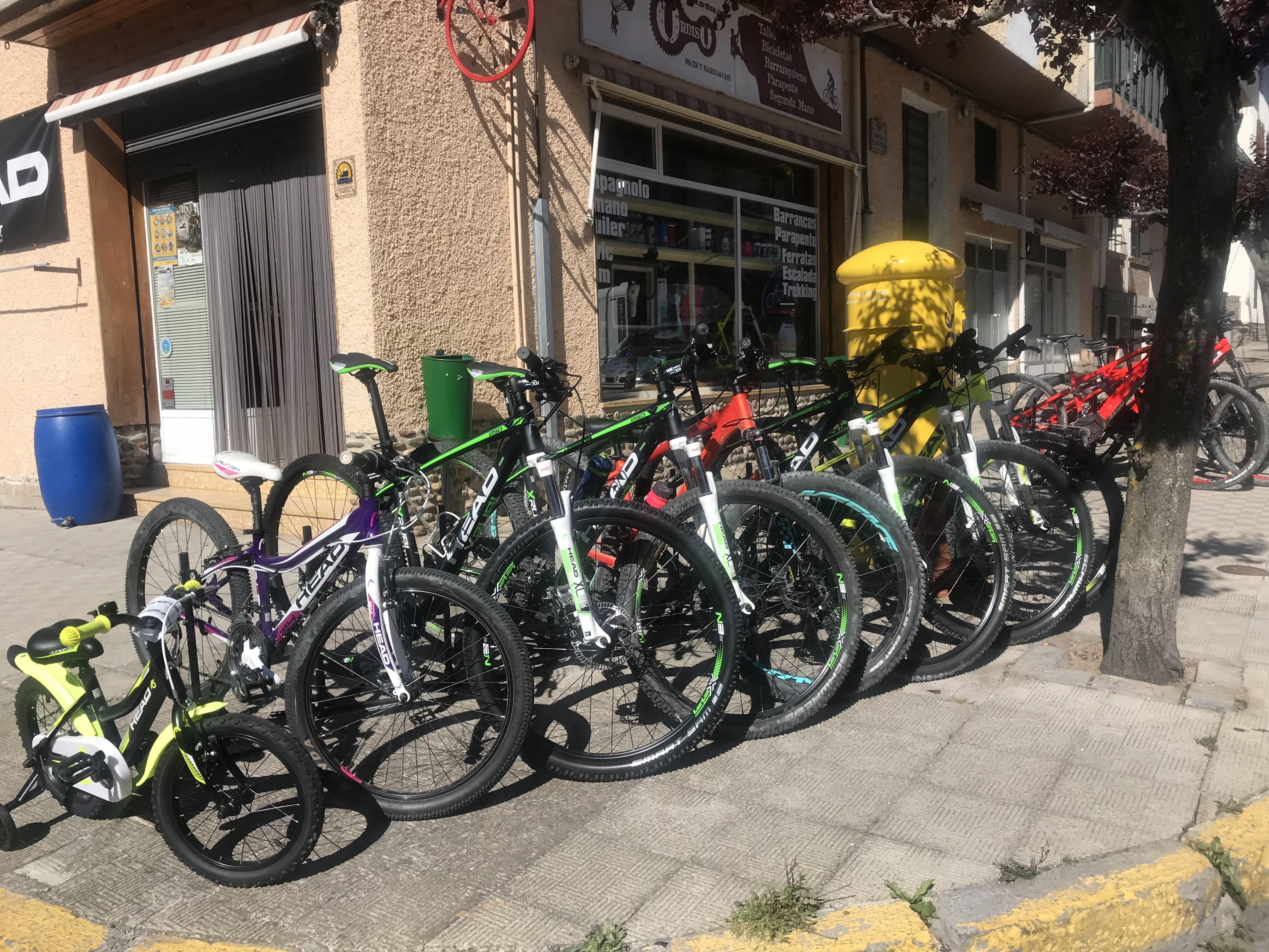 Alquiler de Bicicletas Ordiso
